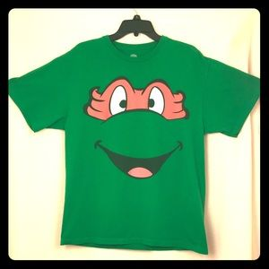 2012 Retro TMNT Michelangelo Face Shirt - Large